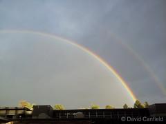 October 12, 2014 - A double rainbow over CSU. (David Canfield)