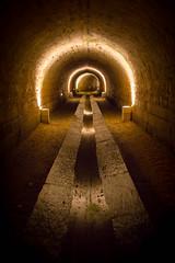 "Follow the light (Herve ""Setaou"" BRY) Tags: light france water eau stream path lumire loirevalley chemin souterrain ruisseau paysdelaloire valledelaloire chteaudebrissac brissacquinc"