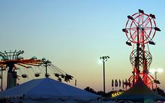 Sky Wheel And Yo Yo Owned By Big Rock Amusements. (dccradio) Tags: carnival fun nc northcarolina fair entertainment midway countyfair amusements lumberton carnivalrides amusementrides communityevent thrillrides fairrides mechanicalrides robesoncountyfair bigrockamusements robesonregionalagriculturalfair