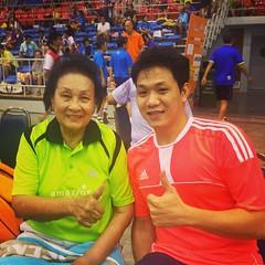 คุณป้าทองคำ กิ่งมณี ตำนานนักแบดมินตันหญิงทีมชาติไทย