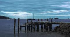 By the Sea (debarazzi2009) Tags: cloud seascape water boats jetty hdr batemansbay