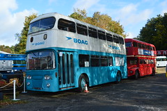 BOAC LYF307D (PD3.) Tags: bus london museum hall transport surrey company airline trust cobham british transfer fest lt weybridge overseas leyland brooklands mcw 2014 lyf boac atlantean airside 307d lyf307d transportfest