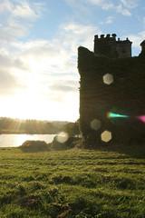 After Rain (plinio.melhado) Tags: sunset castle menlocastle