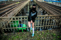 Lera Yasenskaya 3 (Mark Backyard) Tags: sexy girl smoke babe chick vandal hype swag trap allblack sexygirl streetstyle saintp