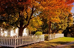 (Jolynn's Photography) Tags: autumn home fence quote homestead oharasmill