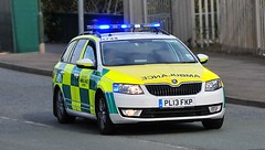 Blue Lights for North West Ambulance Service (sab89) Tags: west out call estate northwest north ambulance nhs trust vehicle service emergency paramedic wallasey skoda wirral merseyside fkp pl13