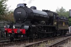 62712 'Morayshire' at Loughborough, 3rd October 2014 (OG47) Tags: railway locomotive 440 steamengine steamlocomotive morayshire greatcentralrailway gcr railwayengine uksteam autumnsteamgala 62712 d49class