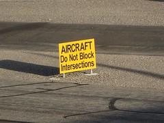 warning (kenjet) Tags: sign warning airport aircraft intersection block runway warningsign donotblock donotblockintersections