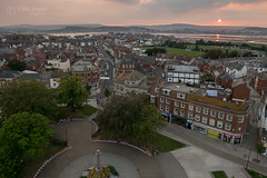 Sunset over Exmouth, Devon with GM1