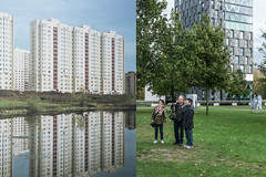 Visiting BredaPhoto with my photo friends (glukorizon) Tags: park lake plant reflection tree art grass photo pond meer foto photographer friendship russia moscow kunst large nederland boom gras breda moskou maarten apartmentbuilding plas ari monique rusland noordbrabant odc reflectie groot fotograaf spiegeling flatgebouw bredaphoto odc1 chasspark alexandergronsky songsfromtheheart ourdailychallenge fotoclubvak bredaphotointernationalphotofestival