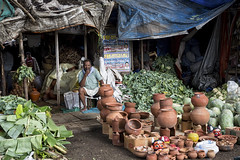 Matke (at the KR Market) (AJ Photographic Art) Tags: india asia bangalore