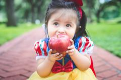 "Eva ""Snow White"" 2014 | 016 (@iseenit_RubenS | R.Serrano Photography) Tags: baby snow halloween apple costume outfit character disney fairy snowwhite ideas tale 2014 disneys babyphotography"