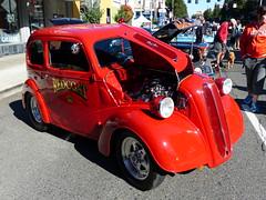 'Red Coat' Anglia (bballchico) Tags: englishford anglia redcoat dragstrip dragcar racecar westseattlecarshow 206 washingtonstate