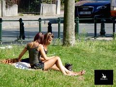 Dans les rues de Bruxelles (Pegasus & Co) Tags: world life street people urban woman