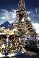 City Carnival (2c..) Tags: carnival paris france colour slr tower film water europe fuji © eiffel 1999 velvia funfair nikkormat 2c marked