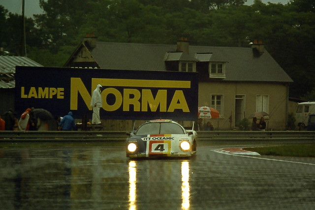 Rondeau M379 -  Henri Pescarolo & Jean-Pierre Beltoise at Ford Chicane at the 1979 Le Mans
