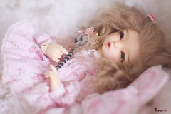 Emily (LTF Ante mod.) (♡Anna T.♡) Tags: bjd fairyland abjd balljointeddoll littlefee littlefeeante