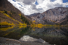 Convict Lake -Eastern Sierras (Explore) (Patrick Dirlam) Tags: california mountain lake color reflection fall explore trips convict easternsierra abigfave eplored esfallcolor