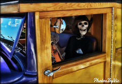 Spooky Driver (Photos By Vic) Tags: halloween skeleton scary spooky