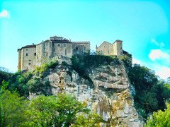 The 2 Castles of Bruniquel (bullit1000_0) Tags: old cliff france castle michael countryside flickr medieval rockface chateau tarn campagne garonne bruniquel glascock bullit10000