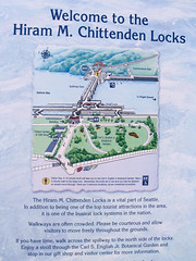 "Hiram Chittenden Locks info sign • <a style=""font-size:0.8em;"" href=""http://www.flickr.com/photos/34843984@N07/15542764851/"" target=""_blank"">View on Flickr</a>"