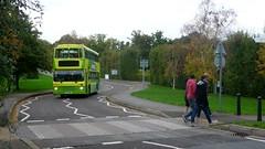 School bus goes to Uni (bobsmithgl100) Tags: bus volvo surrey guildford northern counties palatine olympian universityofsurrey greenbus 5926 mkl p926 p926mkl arrivakentsurrey staghillcampus universityshuttle