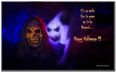 Are you scared ??? Happy Halloween !! (Suvrangshu) Tags: halloween festival lowkey happyhalloween studiophotography conceptphotography canon5dmarkiii suvrangshughoshphotography suvghoshphotography happyhalloween2014