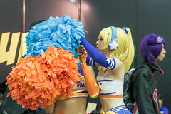 Let me help you (Jimmy Chuah) Tags: portrait anime beauty lady singapore comic cosplay gal cheerleader coser 2014 marinabaysands marinabaysand stgcc
