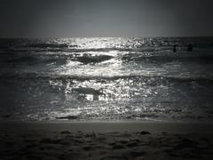 P1120076 - Beach of  14evler (JB Fotofan) Tags: sea bw beach strand turkey lumix blackwhite meer trkiye trkei monochrom deniz schwarzweis zdere fz150