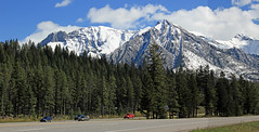 Along the Trans-Canada Highway (JB by the Sea) Tags: panorama canada rockies alberta banff rockymountains transcanadahighway banffnationalpark canadianrockies panoramicview september2014