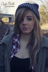 Grunge (sophiecharlottephotography) Tags: portrait fashion shoot grunge traintracks