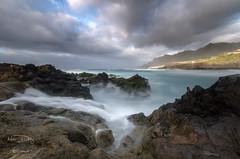 - Derramndose - (Mar Diaz -korama-) Tags: espaa seascape luz clouds mar agua rocks nubes tenerife bajamar rocas islascanarias marinas largaexposicin jover filtrosnd nikond7000 mardazkorama