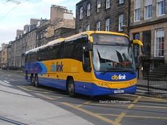 Stagecoach West Scotland, 54134 [YX63NGJ] - Edinburgh (25/09/14) (David's NWTransport) Tags: volvo panther stagecoach plaxton plaxtonpanther stagecoachwestscotland volvob13r yx63ngj