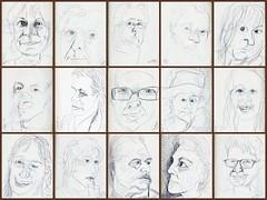 3 Minutes ~ II (Gila Mosaics n'stuff) Tags: portrait pen portraitparty 3minutes jkpp