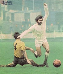 1970-71 George Jagger [Telford United] (bullfield) Tags: football wellington telfordunited georgejagger