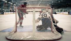 Ontario Junior Hockey League game action between Toronto Lakeshore and Milton... (Kevin Sousa Photography) Tags: canada hockey goalie can milton on icehawks