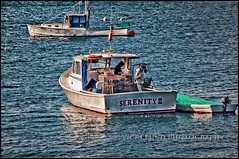 Serenity II (Vicki Lund Photography) Tags: blue sea seaweed tourism nature water beautiful blessings landscapes fishing artist seascapes fishermen view fineart maine newengland naturallight tourists atlantic vacationland eastcoast harpswell lobsterboats freelancephotographer maineartist fineartprints travelphotographer nikond90 mainenewengland mainephotographer fineartlandscape newenglandphotography fineartseascapes vickilund vickilundmaine