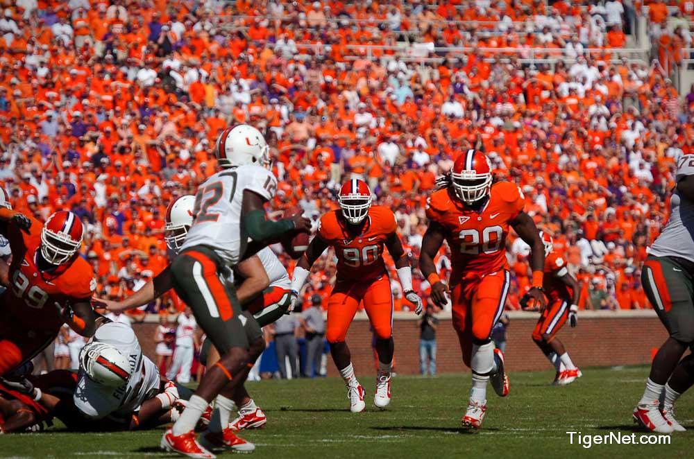 Clemson Photos: 2010, Brandon  Maye, Football, miami