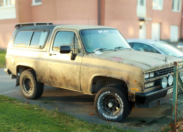 chevrolet sweden pickuptruck 1989 haninge ck handen chevroletk10 utata:project=tw445