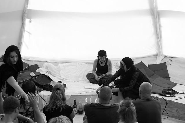 Roskilde Festival 2015 - Performance Art