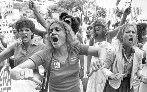 The long stymied Equal Rights Amendment is much closer, but will still require the kind of militant struggle by women and the men who support their demands that we saw fighting for it in the 1970s. Now is the time!
