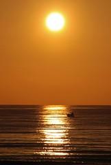 Go fishing... (modestino68) Tags: alba sunrise mare sea sole sun barca ship riflessi reflects rogerwaters ericclapton