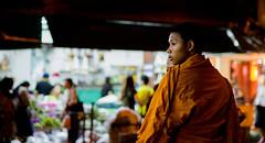 monks (Tina Grdić) Tags: bangkok buddhism religion asia thailand travel night sonyalpha7ii beercanlens minoltaoldlens handheld seasia orange monks monk notripod