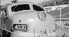 Canadian Pacific Diesel Locomotive 4030 (ManOfYorkshire) Tags: 4030 diesel locomotive thecanadian canada canadian train railway engine streamlined 1950s 1954 1955 new service closeup