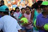 Match point Nishikori (damianbendersky) Tags: usopen tennis tenis matchpoint autograph giant balls niños kids children running corriendo