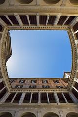 Proiezione Terrena (Roberto -) Tags: roma rome chiostro bramante architecture architettura cloister nikon tokina 1120