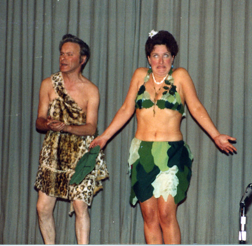 1983 Robinson Crusoe 06 (from left Ted Hampton, Barbara Hutt)