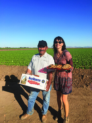 Farmworkers in Arizona and California are given suruprises in the fiedl by the Labor of Love program.
