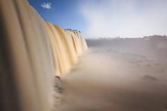 The silky Iguazu Falls, Brazil (Kenneth Back) Tags: brazil fozdoiguacu iguazufalls iguassufalls waterfall cataratas paraná br silky water canon southamerica
