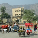 India (Jaipur) Parking place for all vehicles including camels thumbnail